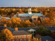 """Trường đại học  """" ngàn hoa """"  có mùa thu đẹp nhất nước Mỹ"""