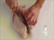 Bí kíp chặt thịt gà nhanh-đẹp-chuẩn chỉ trong 1 phút