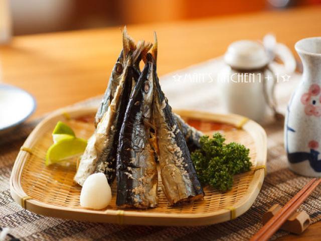 """Cá thu nướng muối ăn với cơm chỉ có """"thủng nồi trồi rế"""""""