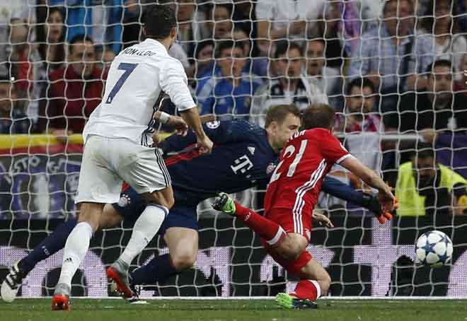 Chung kết cúp C1 Real - Juventus: Ronaldo đại chiến Higuain - 2
