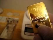 Tài chính - Bất động sản - Giá vàng tăng phi mã, cao nhất một tháng qua