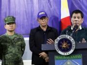 """IS chiếm TP, Duterte nói sẽ dùng  """" biện pháp mạnh """""""