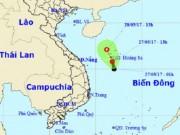 Tin tức trong ngày - Xuất hiện áp thấp mạnh trên Biển Đông, áp sát quần đảo Hoàng Sa