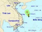 Nóng 24h qua: Áp thấp xuất hiện trên Biển Đông, áp sát quần đảo Hoàng Sa