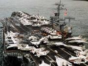 Thế giới - Mỹ điều siêu tàu sân bay hạt nhân thứ 3 răn đe Triều Tiên