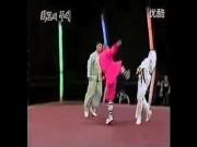 """Thể thao - MMA: Thiếu Lâm hạ Taekwondo, triệu người """"phát sốt"""""""