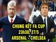 Arsenal - Chelsea: Khúc thiên nga của Wenger (CK FA Cup)