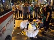 Xác định danh tính tài xế xe cứu thương đâm cô gái gãy chân rồi bỏ mặc