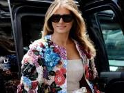 """"""" Ngất """"  với chiếc áo khoác trị giá cả căn nhà của vợ ông Trump"""