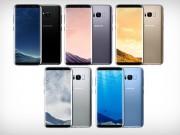Dế sắp ra lò - Samsung tung thêm 3 màu mới cho Galaxy S8 và S8+