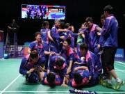 Thể thao - Tin thể thao HOT 28/5: Cầu lông Hàn Quốc tạo địa chấn ở Sudirman Cup