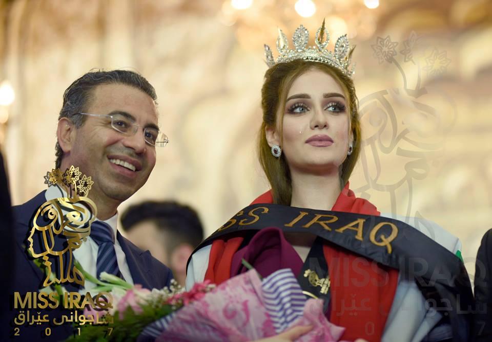 """Hoa hậu Iraq vượt qua """"bão tố"""", đăng quang trong nước mắt - 4"""