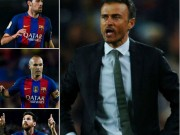 "Sốc ở Barca: Enrique tố bị Messi và 4 sao  "" lật ghế """