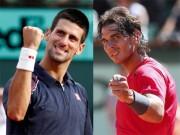 """Thể thao - BXH tennis 29/5: Nadal """"lật đổ"""" Djokovic, lên số 2 thế giới?"""