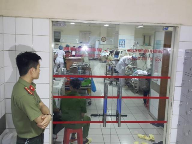 Công an thực nghiệm hiện trường vụ chạy thận 8 người chết - 2