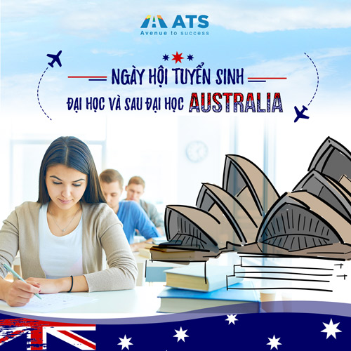 Thỏa mã cơn khát thông tin du học tại Ngày hội tuyển sinh Úc 2017 - 1