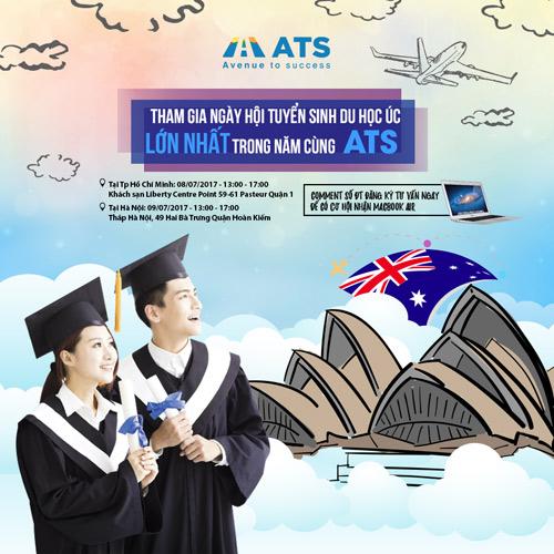 Thỏa mã cơn khát thông tin du học tại Ngày hội tuyển sinh Úc 2017 - 3