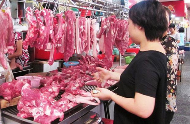 Giá thịt lợn giảm, kéo theo CPI tháng 5 giảm - 1