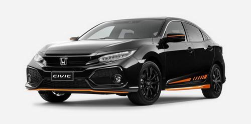 Honda Civic màu cam đặc biệt chỉ giới hạn 100 xe