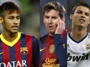"""Bóng đá - Cầu thủ hay nhất Liga: Neymar trên Messi, Ronaldo """"mất hút"""""""