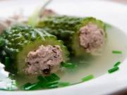 Ẩm thực - Mướp đắng nhồi thịt thanh nhiệt giải độc cho mùa nóng