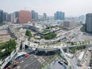 Cầu vượt bỏ không hóa khu vườn trên cao đẹp lạ ở Hàn Quốc