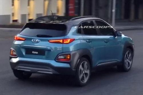 Hyundai Kona sắp về Việt Nam lộ diện hoàn toàn - 3