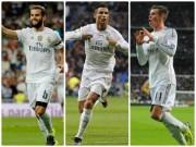 """Real và 10 siêu phẩm ngây ngất: Ronaldo  """" lép vế """"  cánh chim lạ"""
