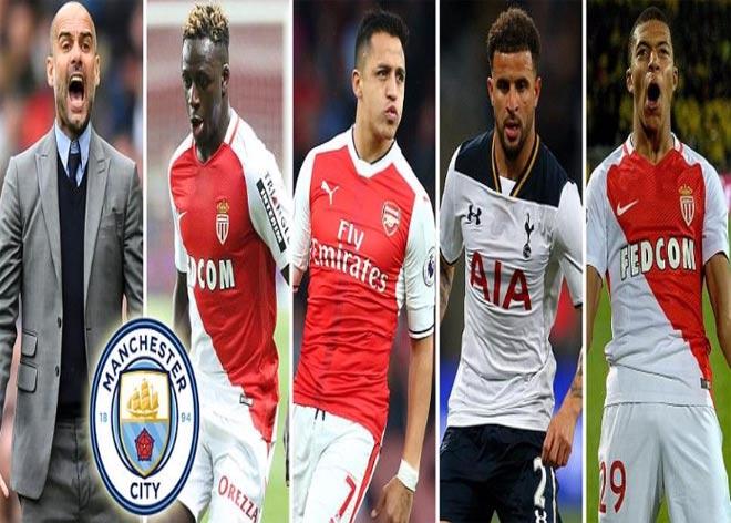 Man City - Pep: 250 triệu bảng săn 5 sao xây Dream Team
