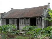 """Chuyện ít biết về  """" ngôi nhà Bá Kiến """"  hơn 100 năm tuổi ở  """" làng Vũ Đại """""""