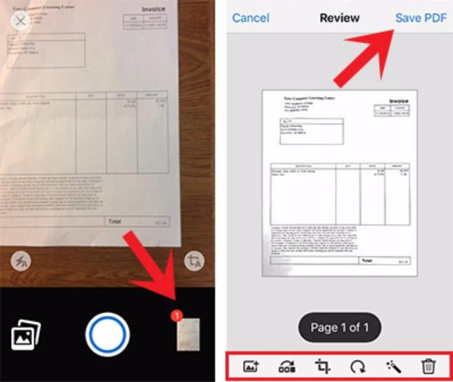 Quét tài liệu giấy thành PDF với Adobe Acrobat Reader - 4