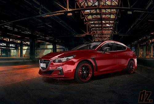 Thợ Việt tự tay độ Mazda3 cực ấn tượng