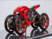 Thế giới xe - Ducati đang phát triển môtô 4 bánh độc lạ?