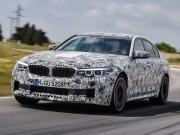BMW M5 thế hệ mới lộ diện với nhiều cải tiến