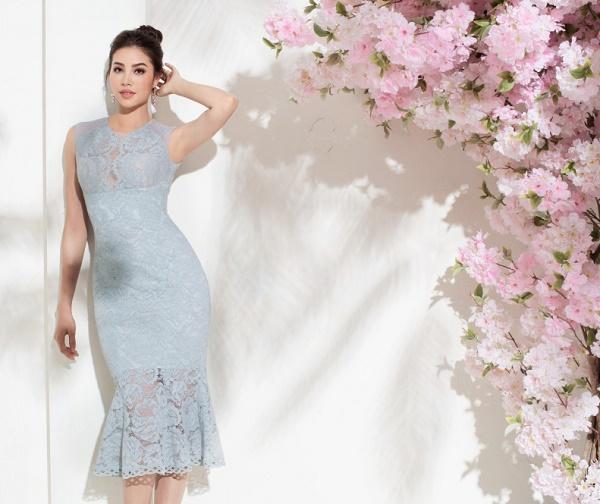 Sau bikini, Phạm Hương chào hè bằng loạt váy nhìn thấu - 4