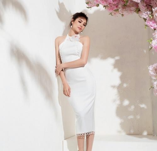Sau bikini, Phạm Hương chào hè bằng loạt váy nhìn thấu - 6