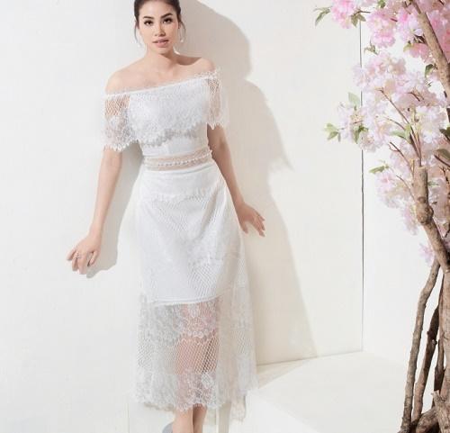 Sau bikini, Phạm Hương chào hè bằng loạt váy nhìn thấu - 8