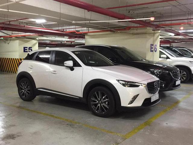 Mazda CX-3 được tạm tính giá 950 triệu đồng ở Việt Nam