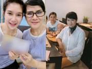 """Mẹ vợ U60 của Lý Hải lại gây  """" choáng """"  khi diện mốt giấu quần xì tin"""