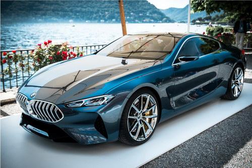 Chiêm ngưỡng BMW 8-Series Concept tuyệt đẹp ngoài đời thực - 1