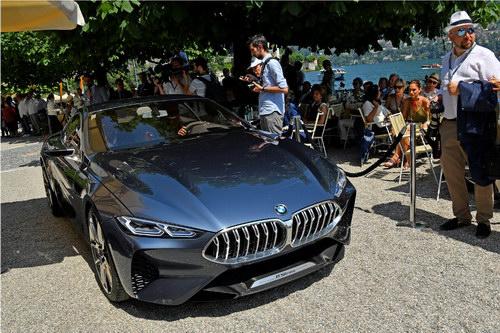 Chiêm ngưỡng BMW 8-Series Concept tuyệt đẹp ngoài đời thực - 6
