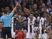 """Bóng đá - Ramos diễn kịch, SAO Juventus ăn thẻ đỏ """"ngớ ngẩn"""""""