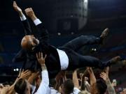 Bóng đá - Real Madrid vô địch Cúp C1: Zidane không hẹn gắn bó trọn đời