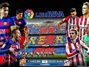 Lịch thi đấu bóng đá - Lịch bóng đá giao hữu hè Barcelona, Atletico Madrid 2017