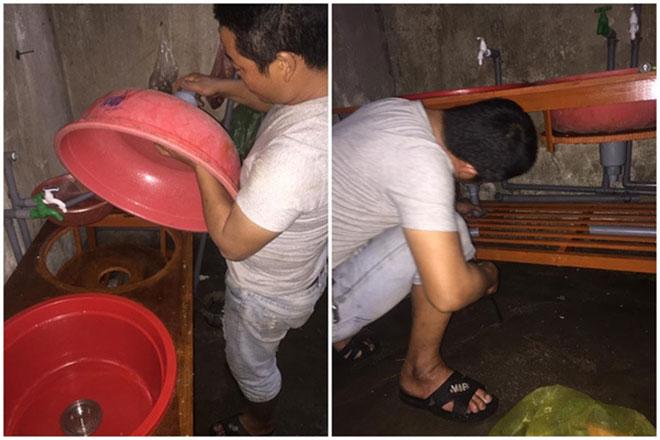 Chồng tự chế bồn rửa bát để vợ đỡ đau lưng gây sốt - 3