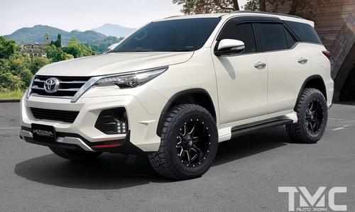 Ngắm Toyota Fortuner mạnh mẽ với gói độ Vazooma-X