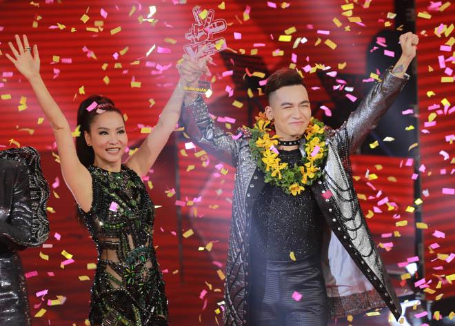 """Thu Minh đáp trả tin giúp """"gà"""" của ban tổ chức đăng quang The Voice - 1"""