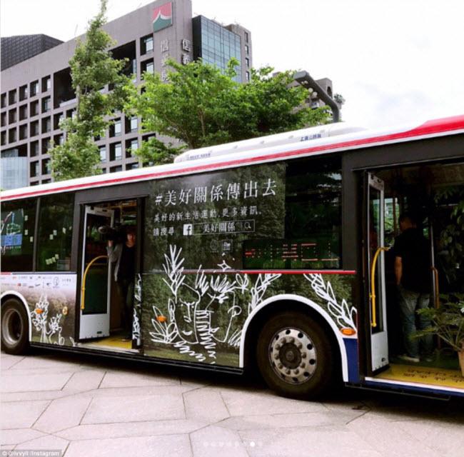 """""""Trốn nóng"""" trong xe bus """"rừng"""" lạ lùng ở Đài Loan - 6"""