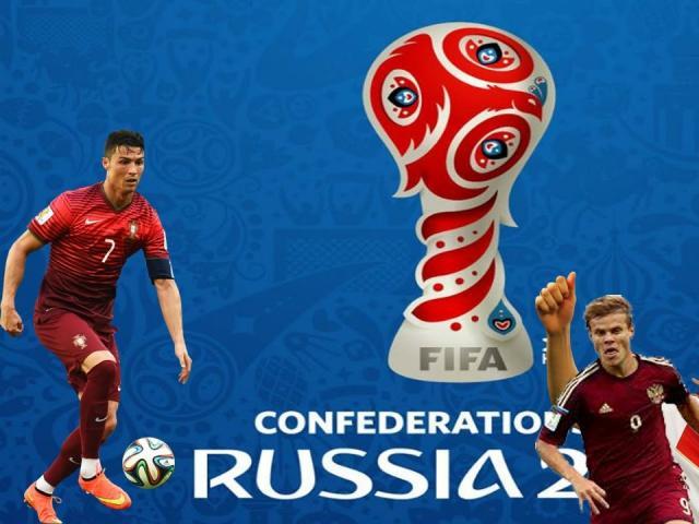 """Siêu phẩm đẹp nhất Confederations Cup: Ronaldinho """"cắt kéo"""" thiên tài - 1"""
