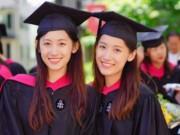 Bạn trẻ - Cuộc sống - Xôn xao cặp chị em song sinh xinh đẹp tốt nghiệp ĐH Harvard